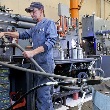 Hydraulic Pump, Motor, Valve and Cylinder Repairs